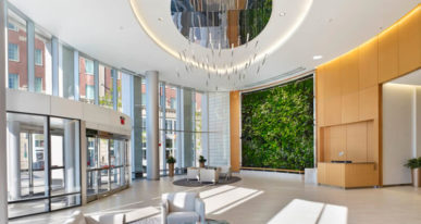 Office Building Lobby design