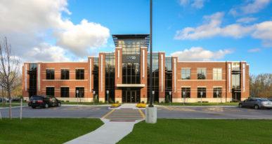 corporate office building development
