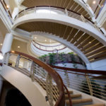 Spiral Staircase in Office Building
