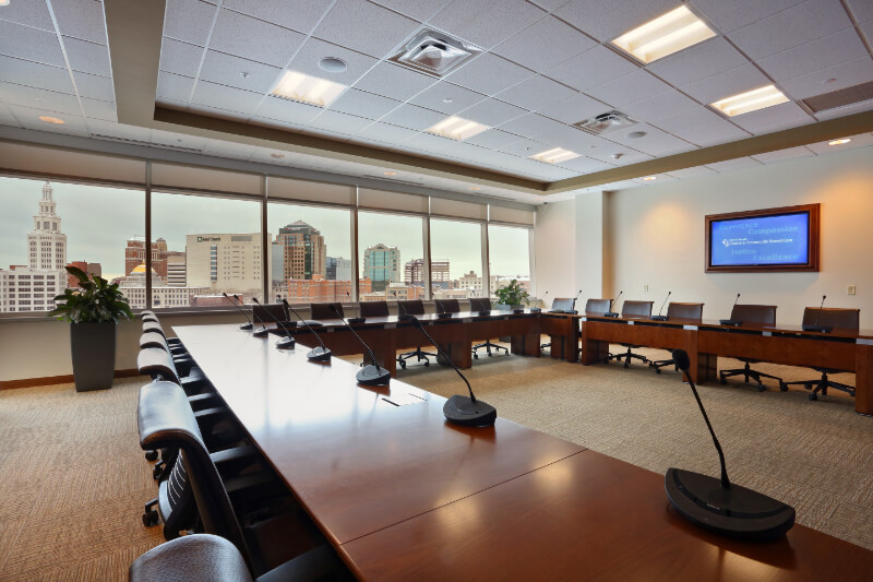 meeting room in office building for rent