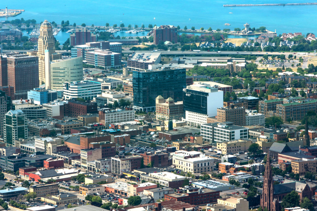Buffalo, New York Skyline