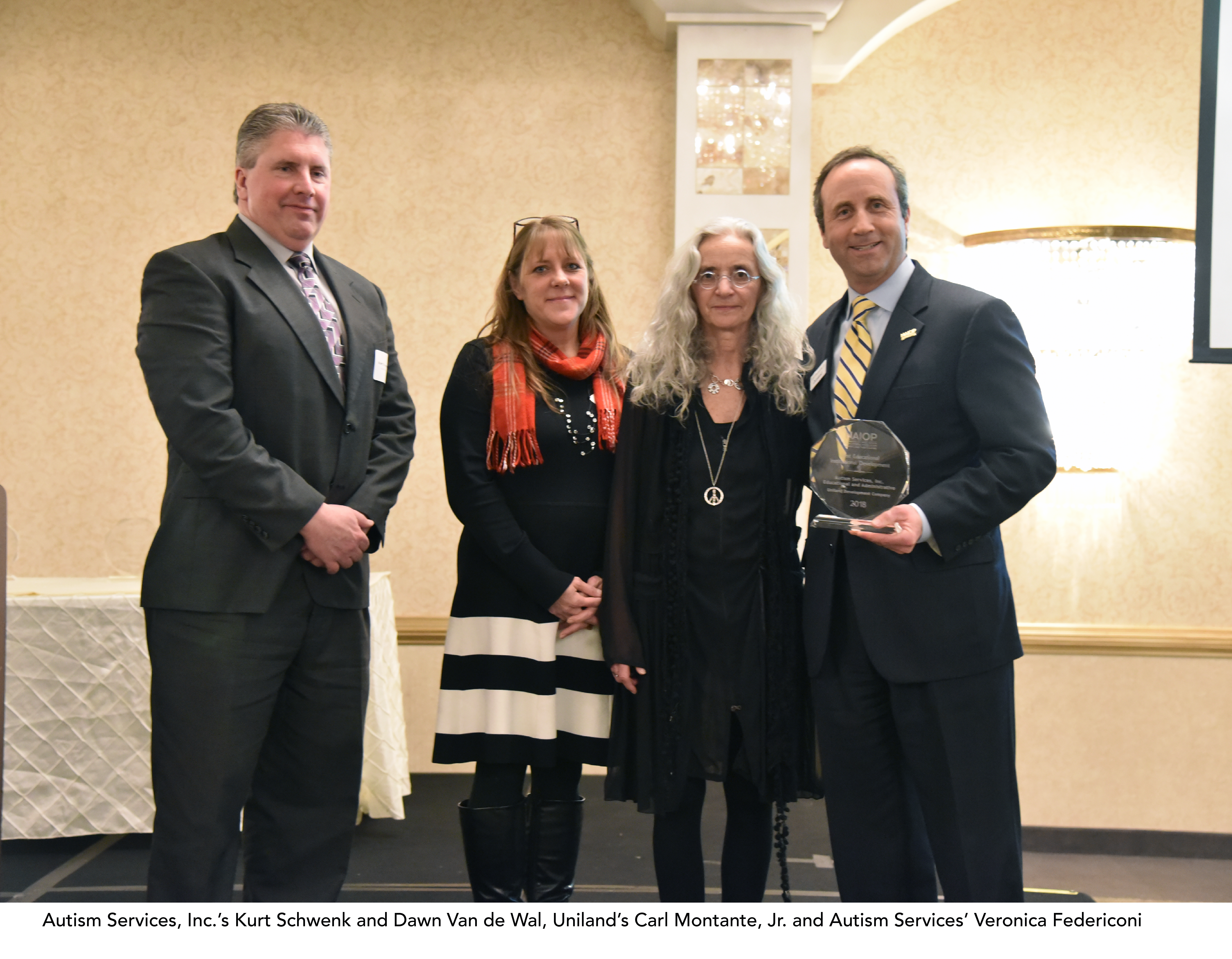 2019 National Association of Industrial and Office Properties Upstate New York Chapter Awards Dinner - Autism Services, Inc.