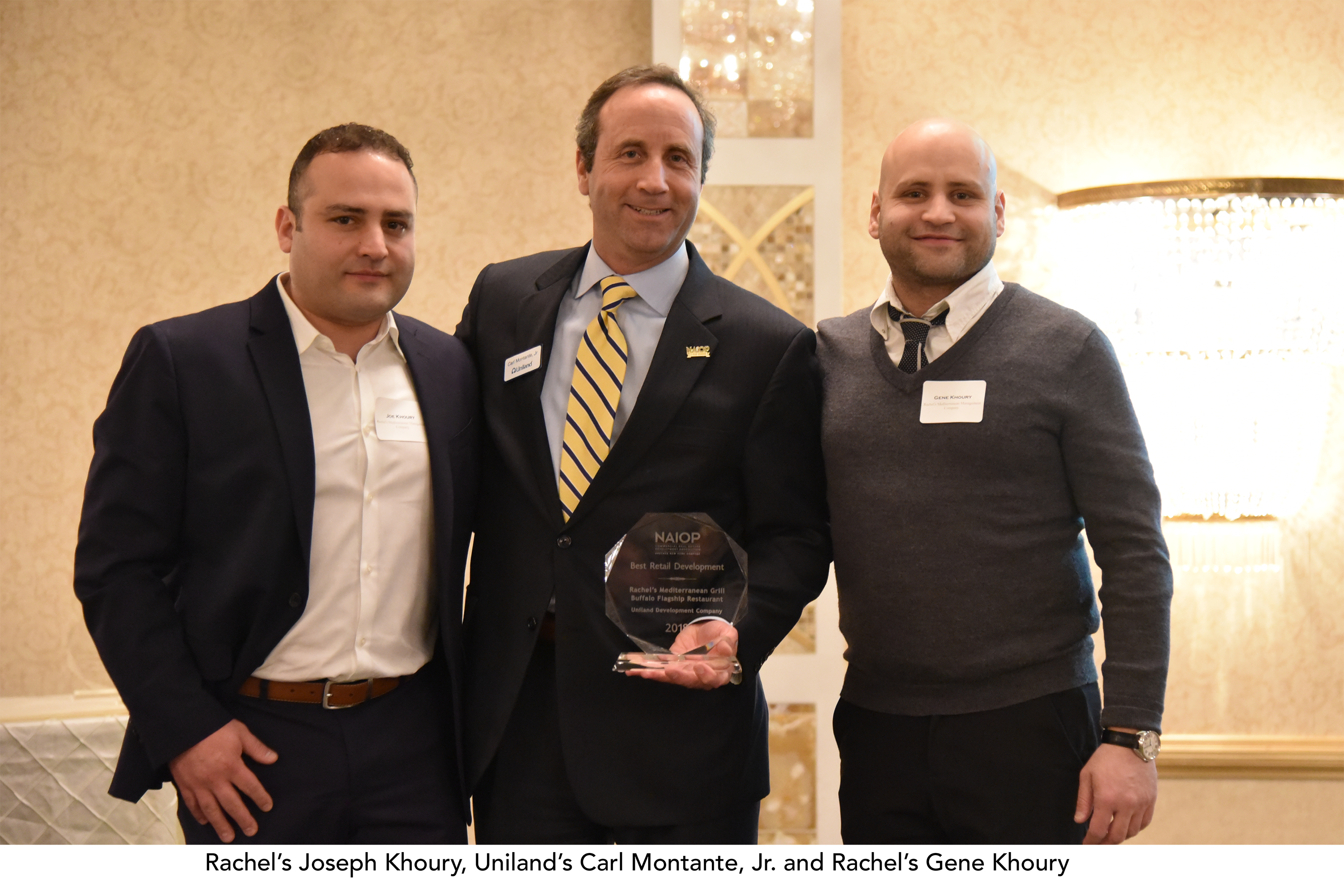 2019 National Association of Industrial and Office Properties Upstate New York Chapter Awards Dinner - Rachel's Mediterranean Grill