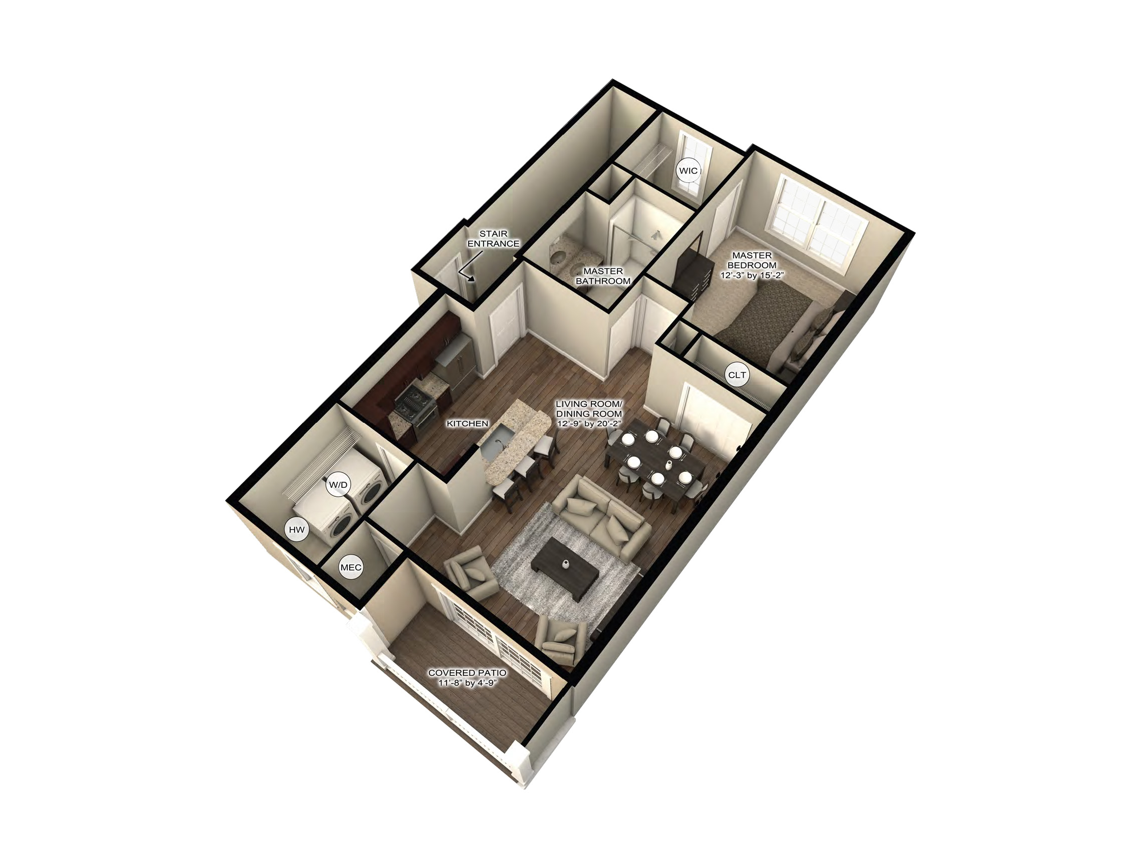 apartment floor plans Rochester, NY