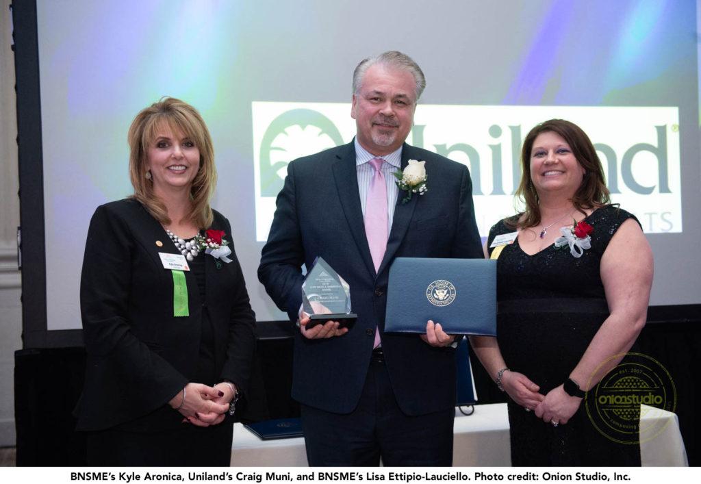 Craig Muni BNSME Award