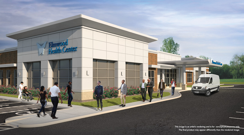 Elmwood Health Center Rendering