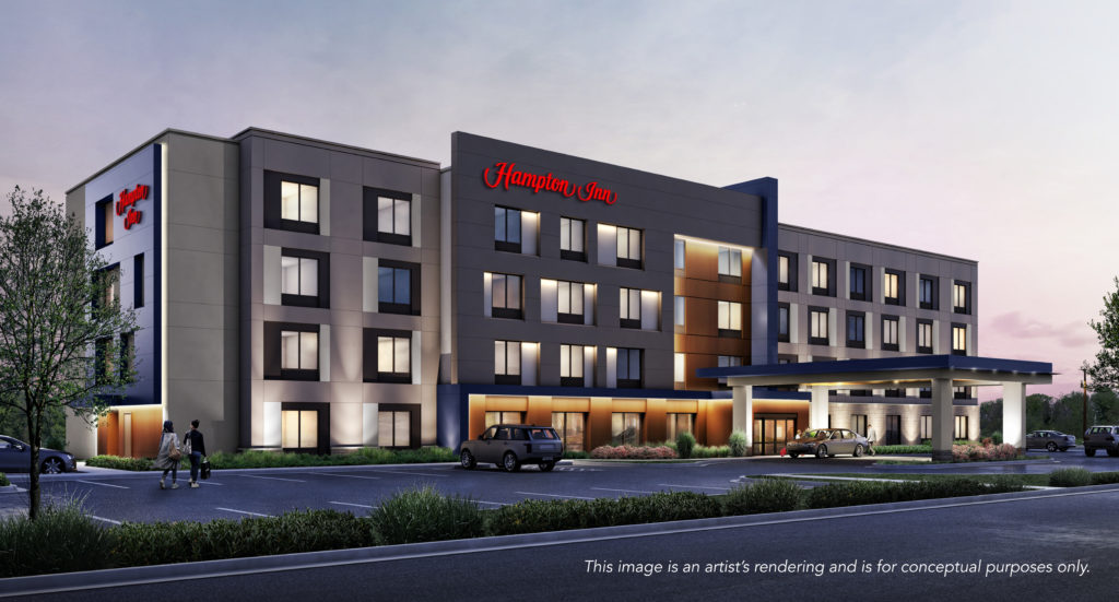 Universal Design Hampton by Hilton hotel development Amherst, NY