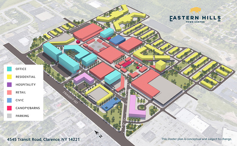 Eastern Hills Town Center Master Plan