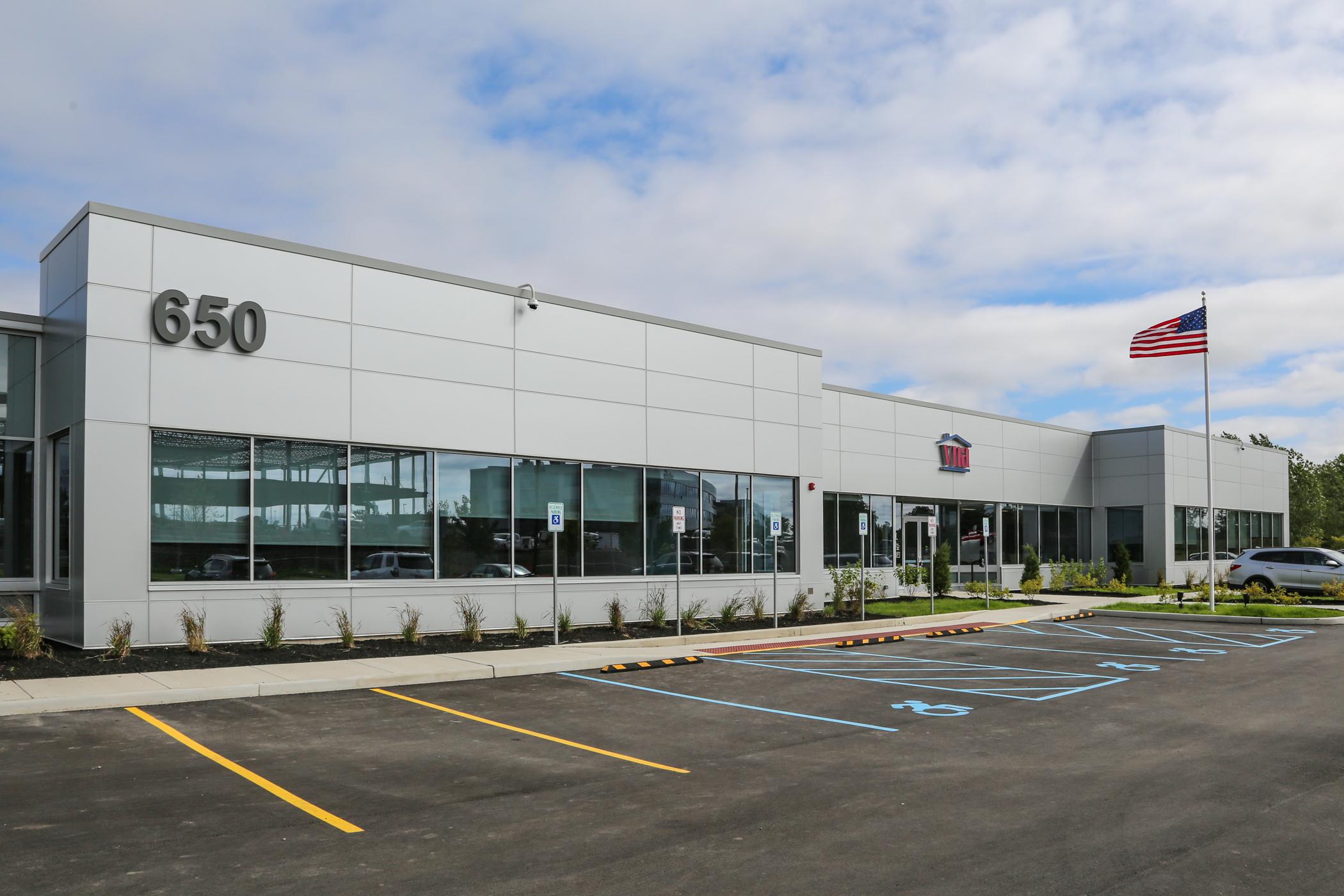 VNA Headquarters at 650 Airborne Pkwy.
