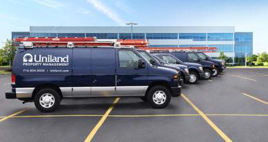 uniland property management trucks