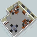 Office space design sample