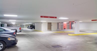 office parking ramp