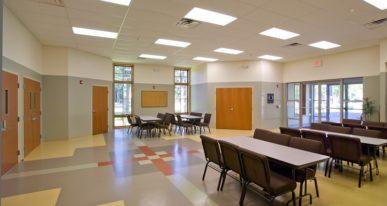 church lunch room