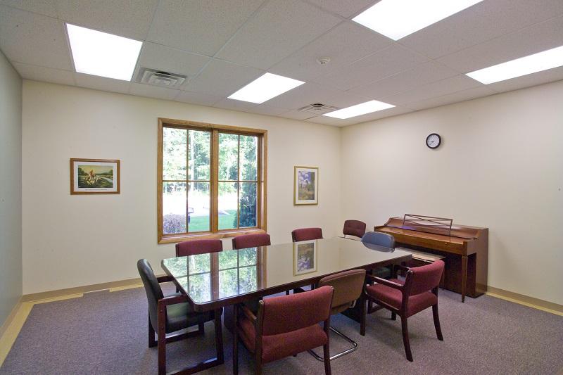 church meeting room