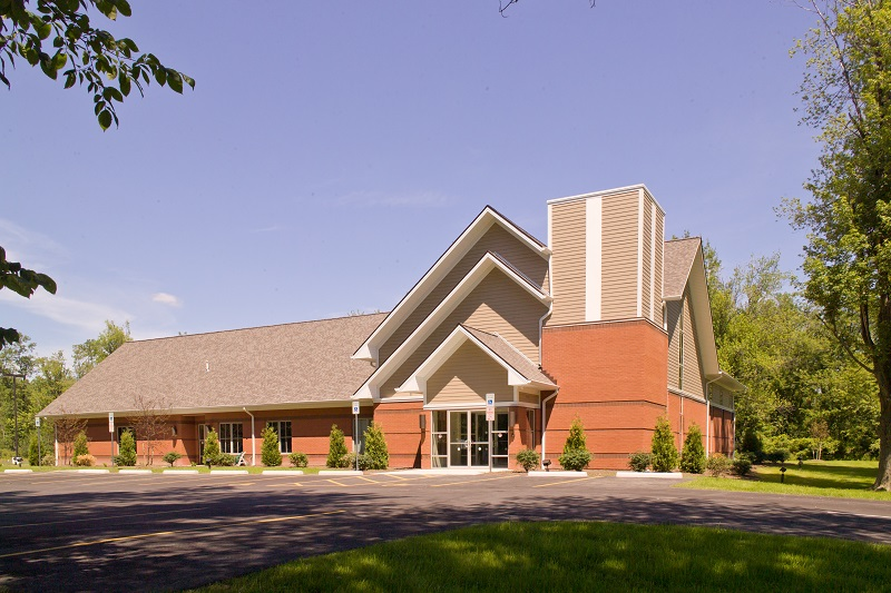 church frojnt entrance