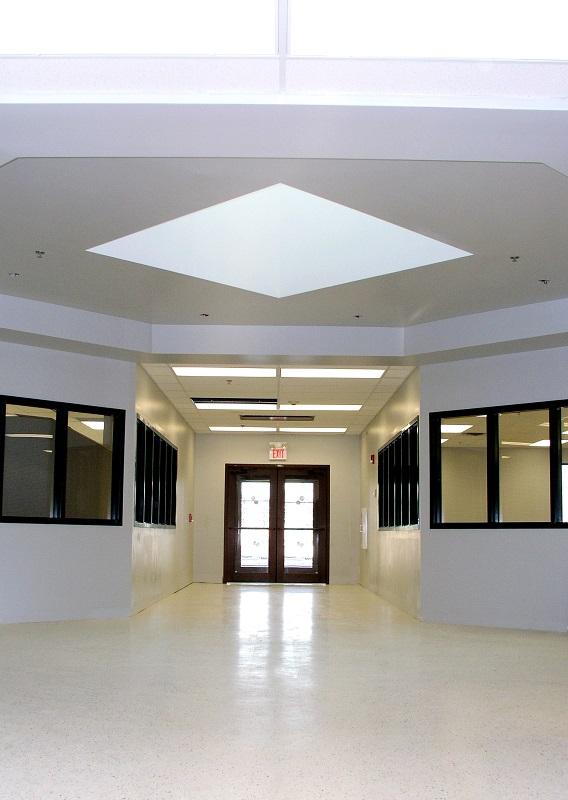 charter school hallway