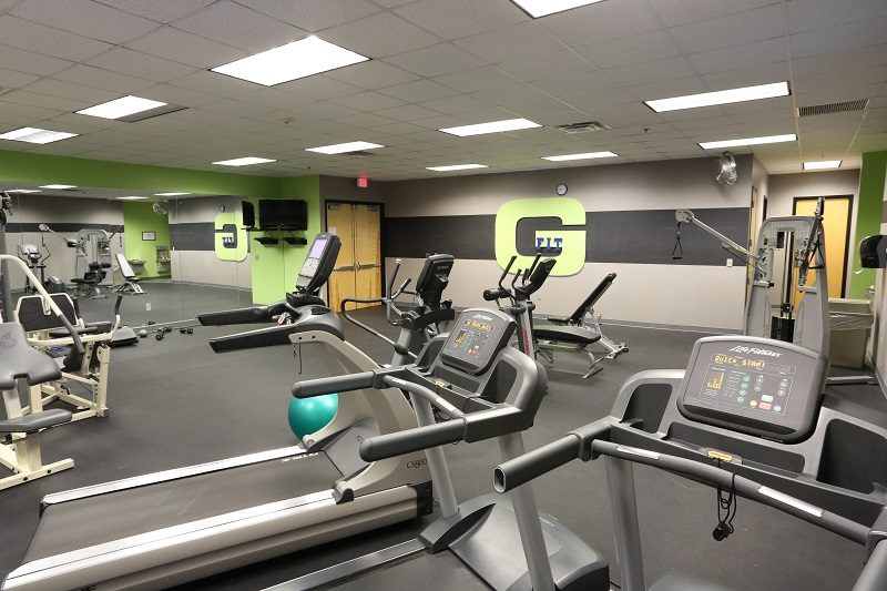 Gym at Geico Office