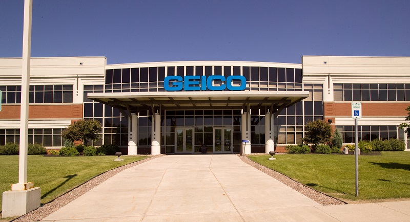 Geico Amherst Front Entrance