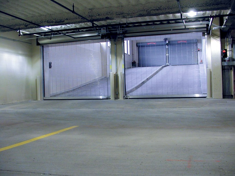 office parking ramp