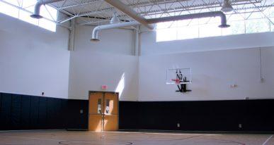school gym construction
