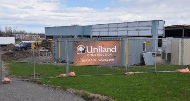 Uniland Construction site